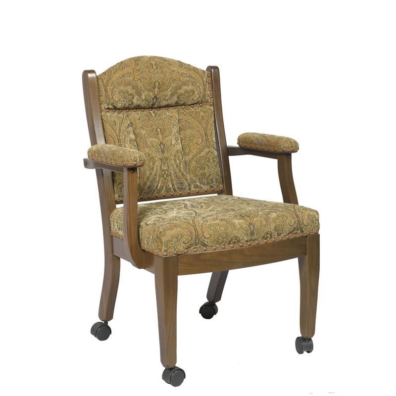 kitchen chairs with casters photo - 1