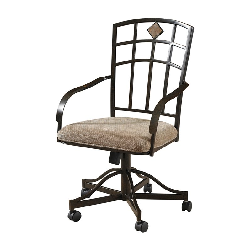 kitchen chairs with casters photo - 5