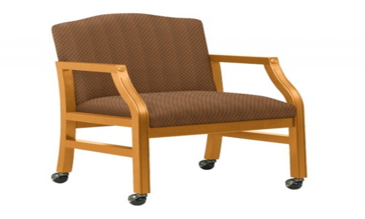kitchen chairs with casters photo - 6