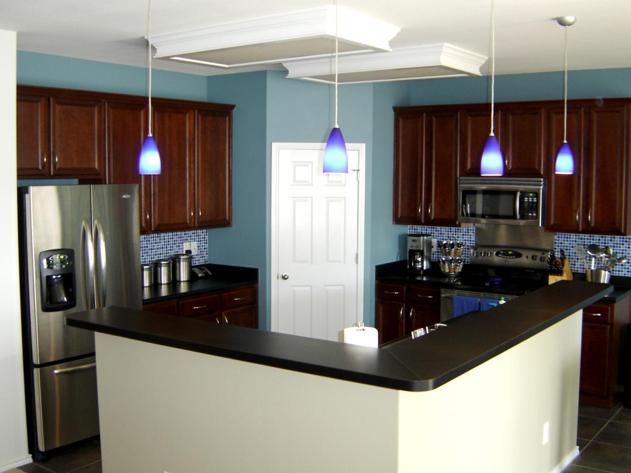 kitchen design ideas and colors photo - 3