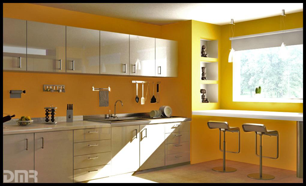 kitchen design ideas and colors photo - 5