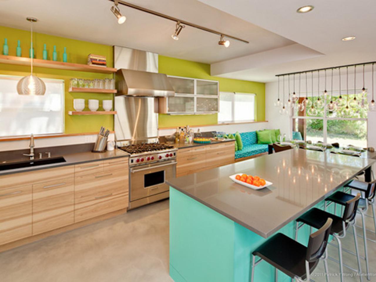 kitchen design ideas and colors photo - 8
