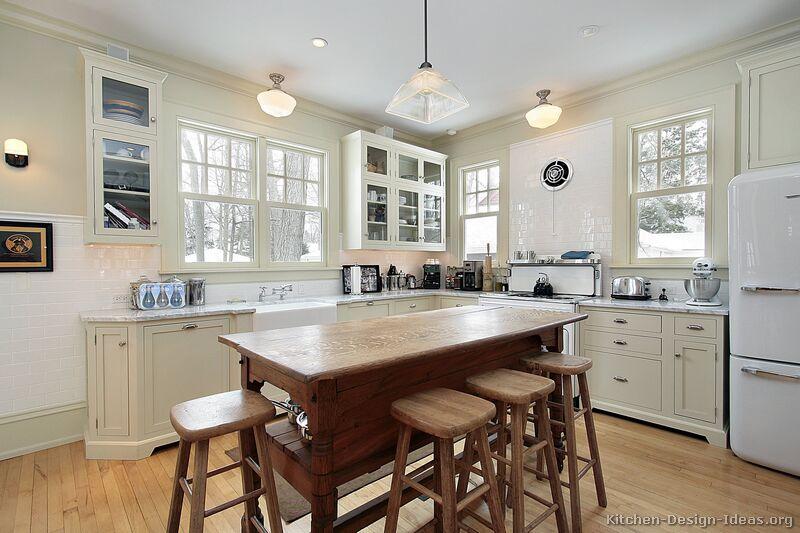 kitchen design ideas antique white photo - 10