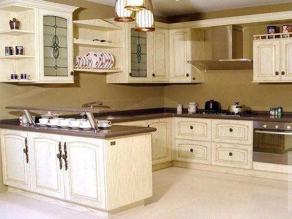 kitchen design ideas antique white photo - 3