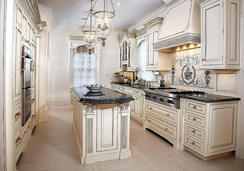 kitchen design ideas antique white photo - 6