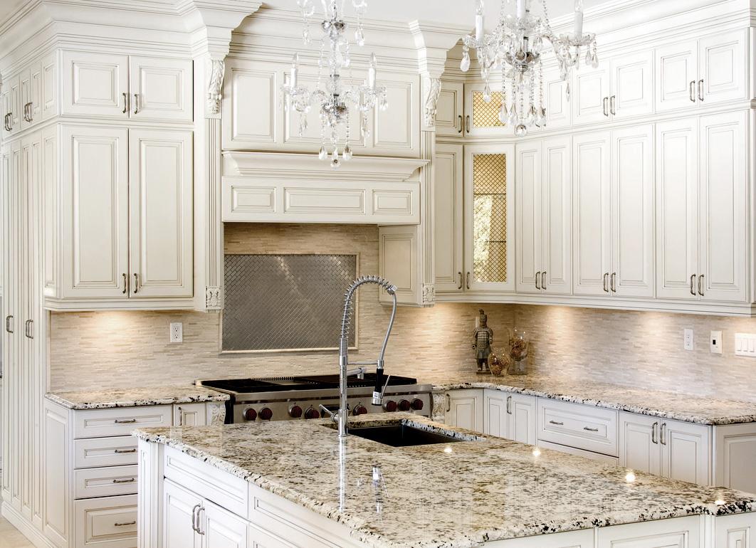 kitchen design ideas antique white photo - 8