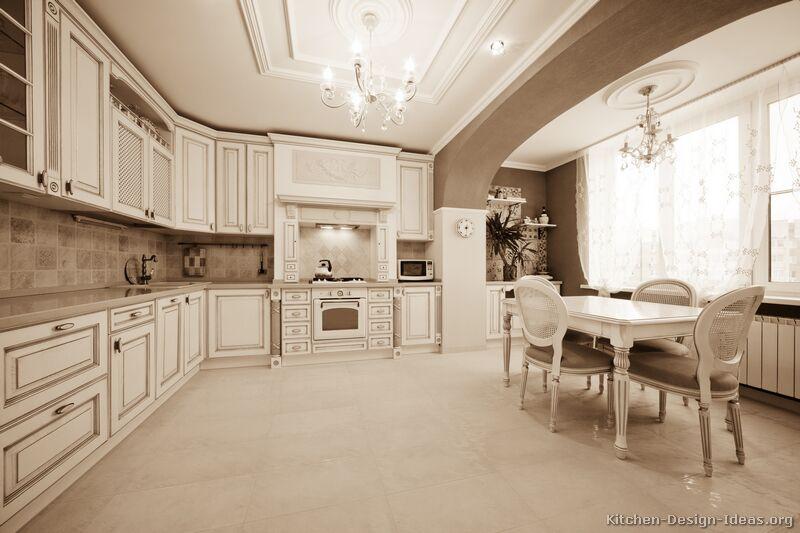 kitchen design ideas antique white photo - 9