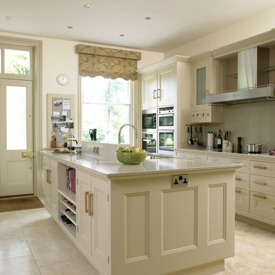 Kitchen Design Ideas Cream Cabinets Photo 8