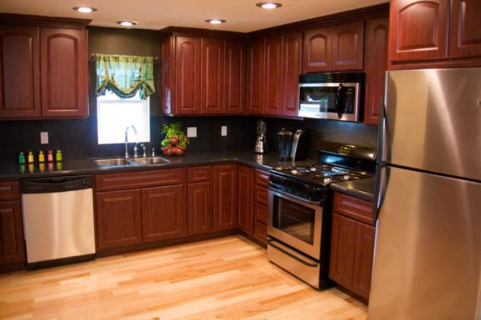 kitchen design ideas for mobile homes photo - 7