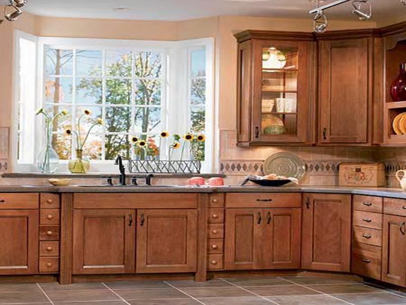 Kitchen Design Ideas For Oak Cabinets Hawk Haven Simple Kitchen Designs With Oak Cabinets