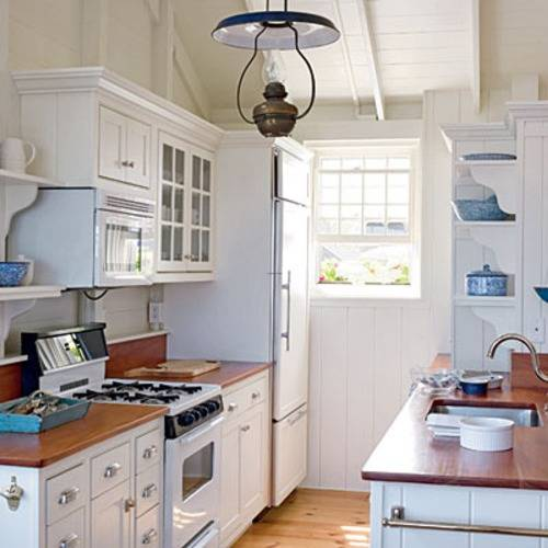 kitchen design ideas for small galley kitchens photo - 1