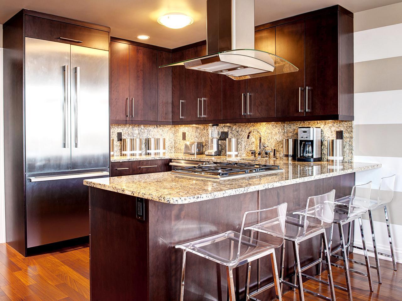 kitchen design ideas for small kitchens island photo - 10