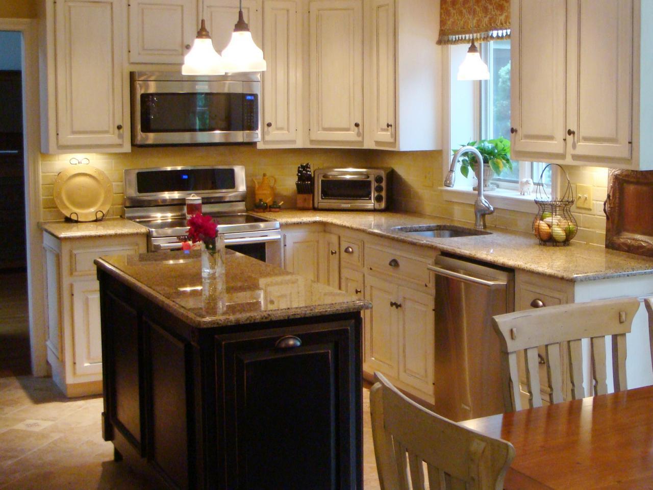 kitchen design ideas for small kitchens island photo - 4