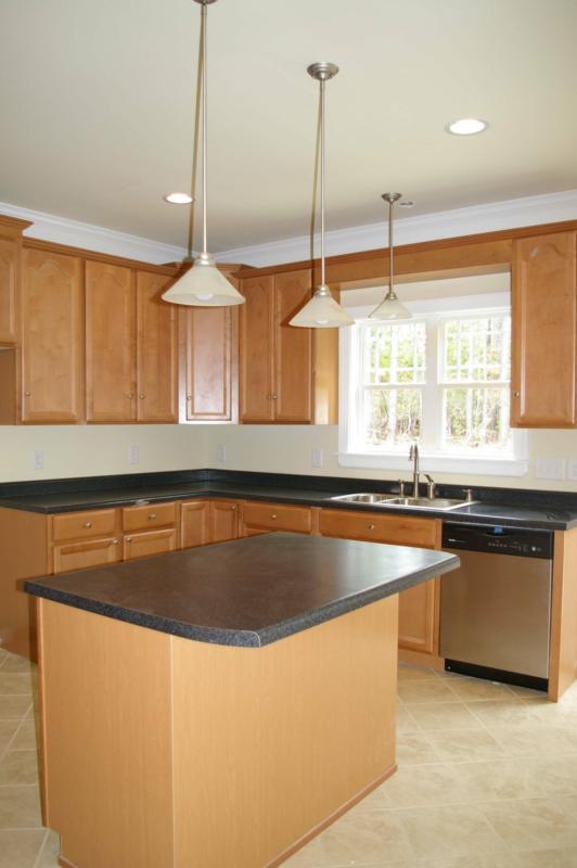 kitchen design ideas for small kitchens island photo - 6