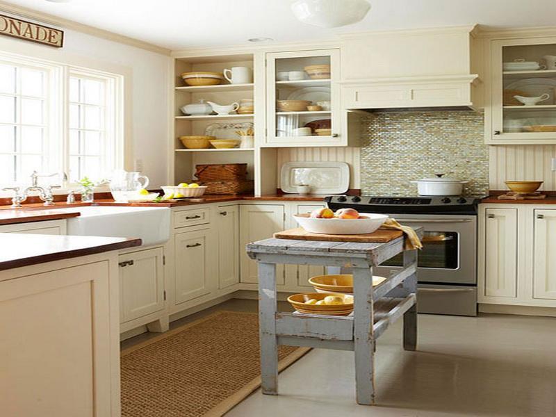 kitchen design ideas for small kitchens island photo - 7