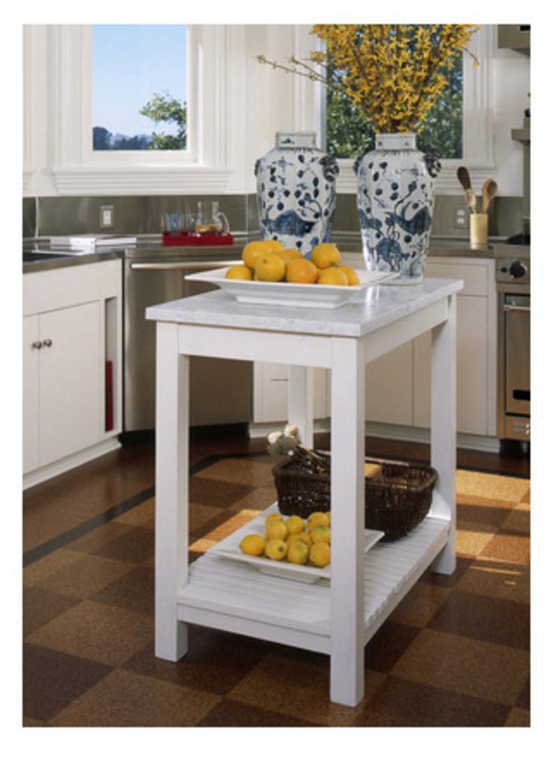 kitchen design ideas for small kitchens island photo - 9