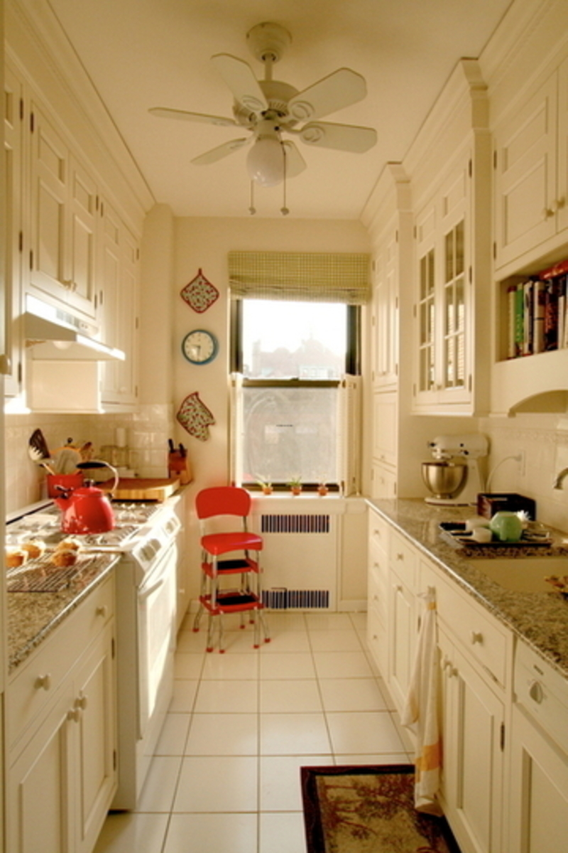 Kitchen design ideas galley | Hawk Haven