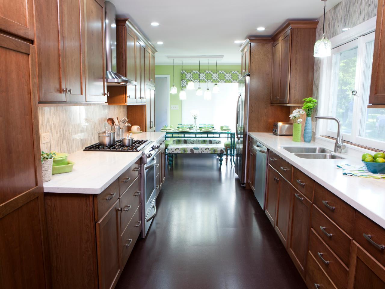 kitchen design ideas galley photo - 2