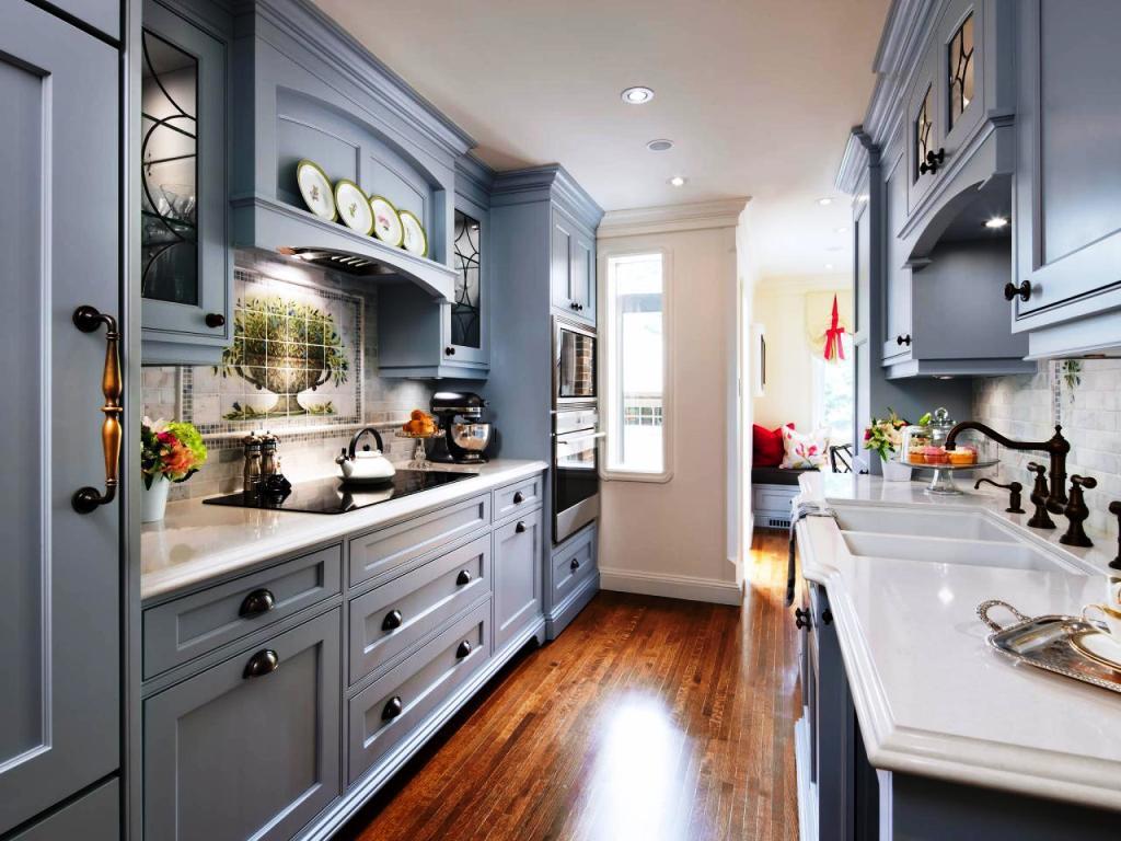 kitchen design ideas galley photo - 3