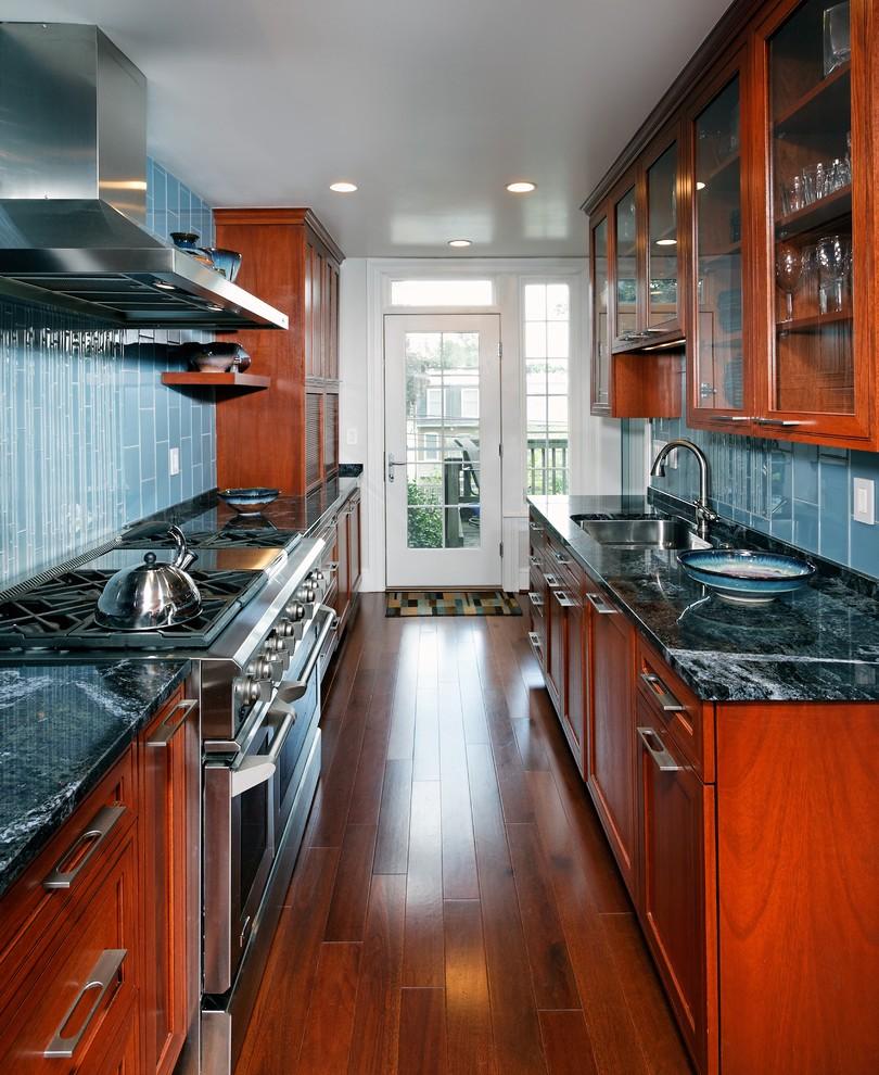 kitchen design ideas galley photo - 9