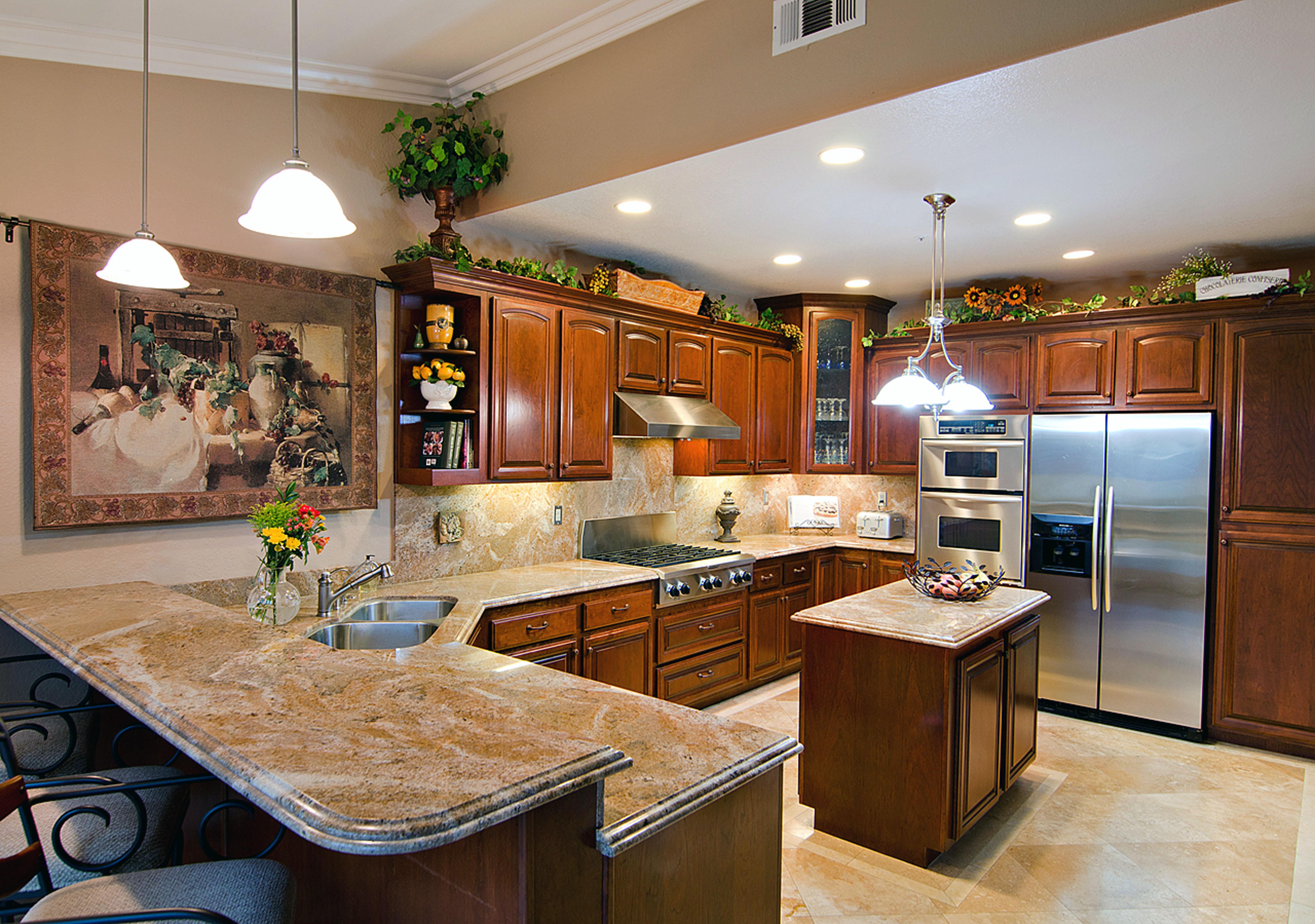 kitchen design ideas granite photo - 3