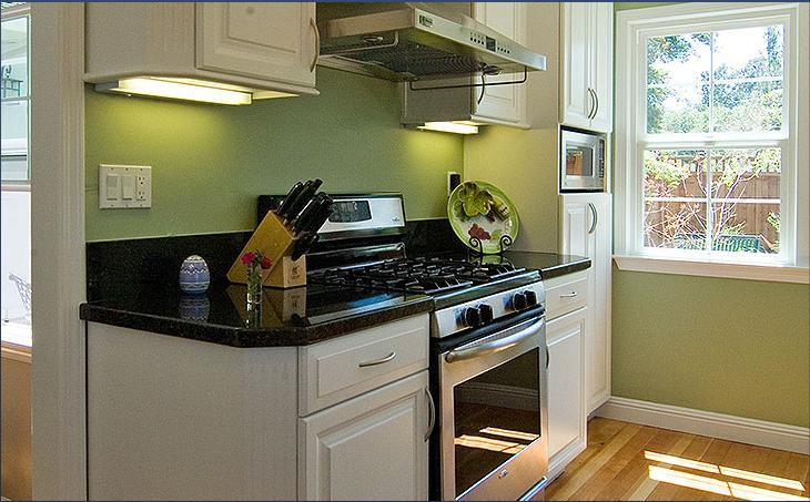 kitchen design ideas green photo - 10