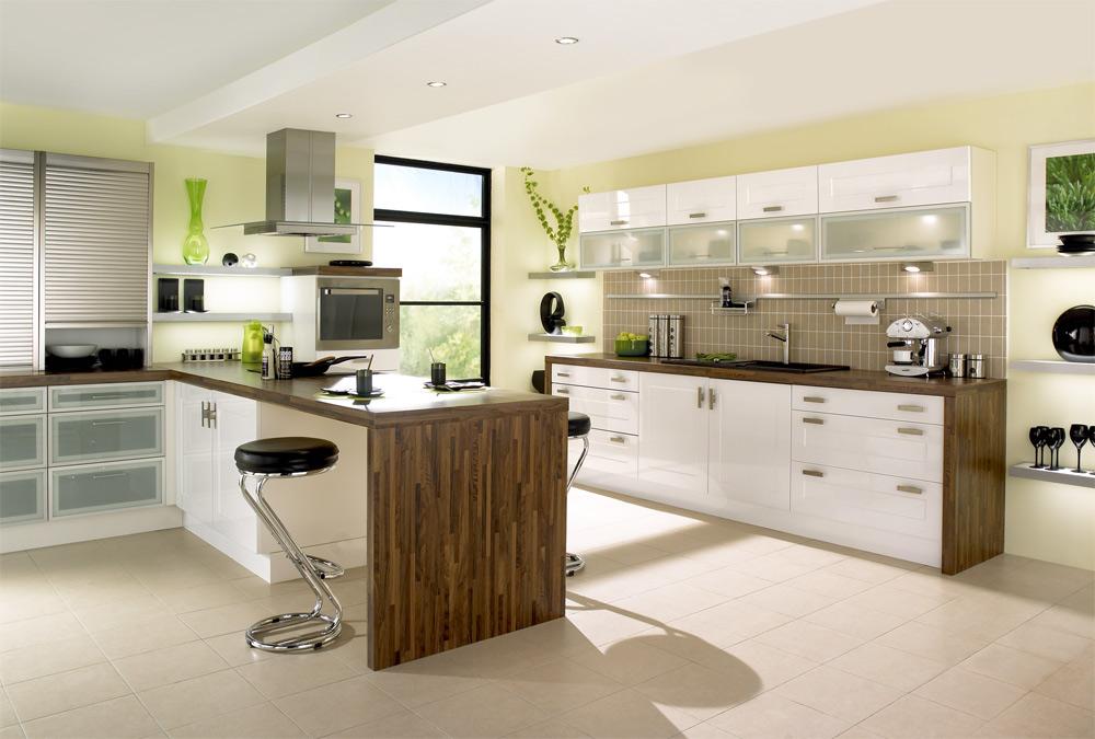 kitchen design ideas green cabinets photo - 7