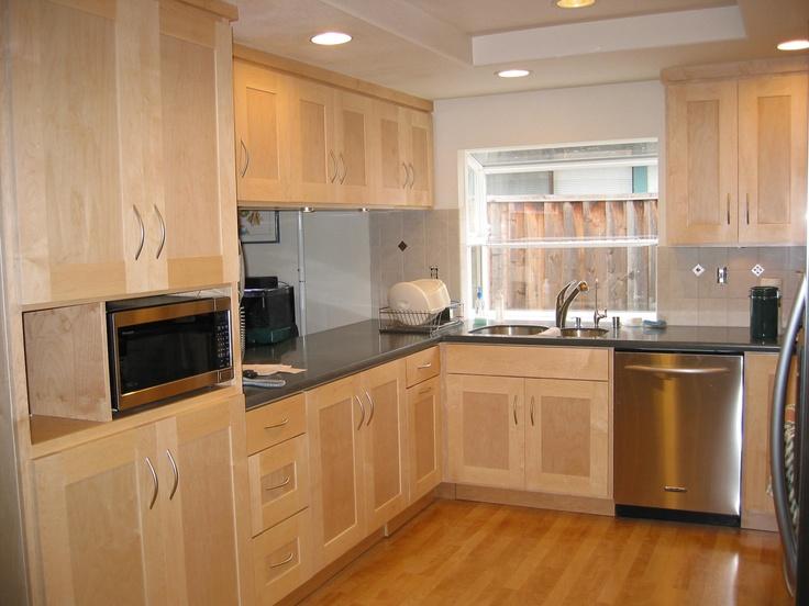 Kitchen design ideas light maple cabinets   Hawk Haven