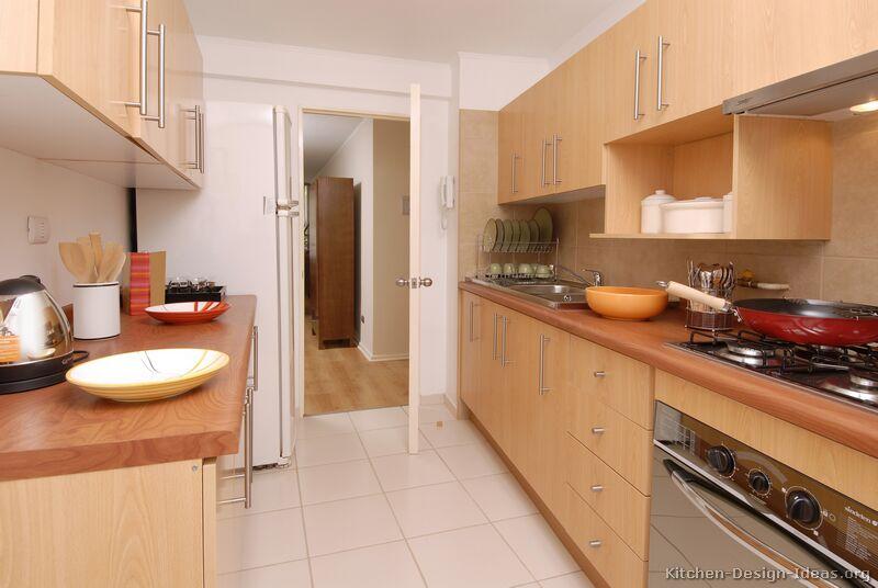 kitchen design ideas light wood cabinets photo - 10