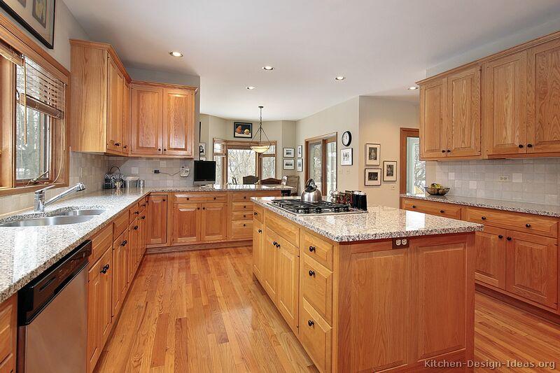 kitchen design ideas light wood cabinets photo - 6