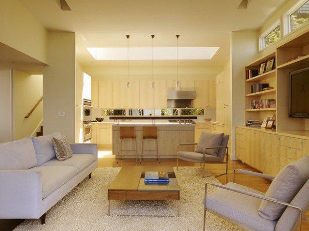 kitchen design ideas open living room photo - 6