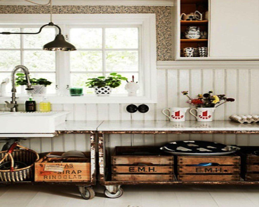 kitchen design ideas retro photo - 10