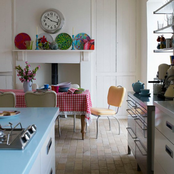kitchen design ideas retro photo - 4