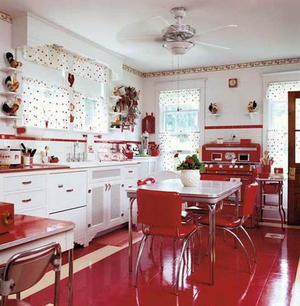 kitchen design ideas retro photo - 5