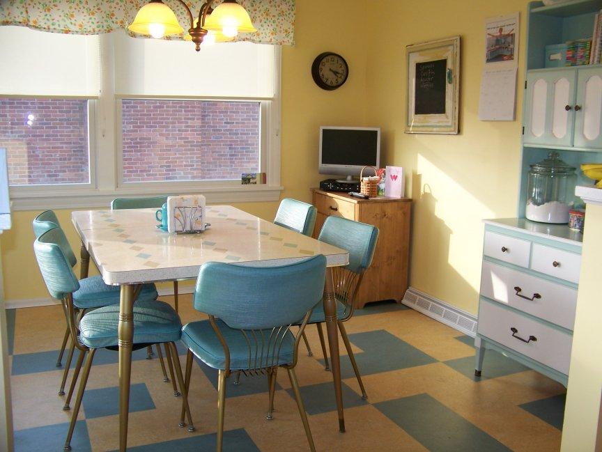 kitchen design ideas retro photo - 7