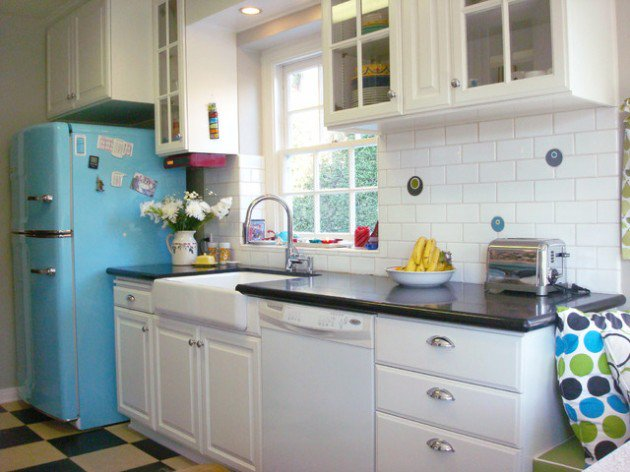 kitchen design ideas retro photo - 8
