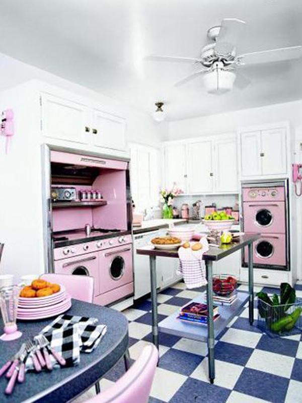 kitchen design ideas retro photo - 9