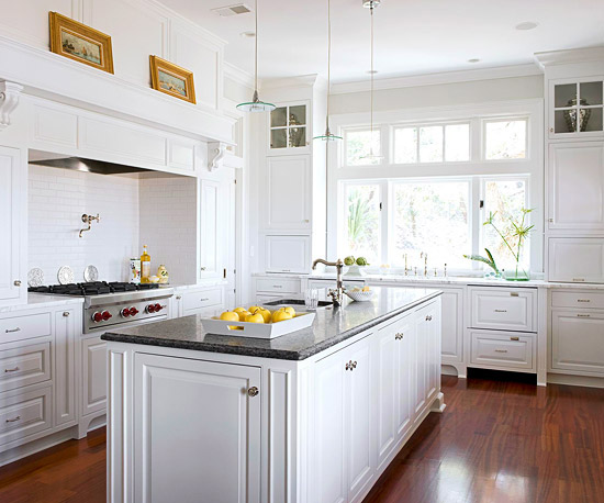 Kitchen design ideas white cabinets | Hawk Haven