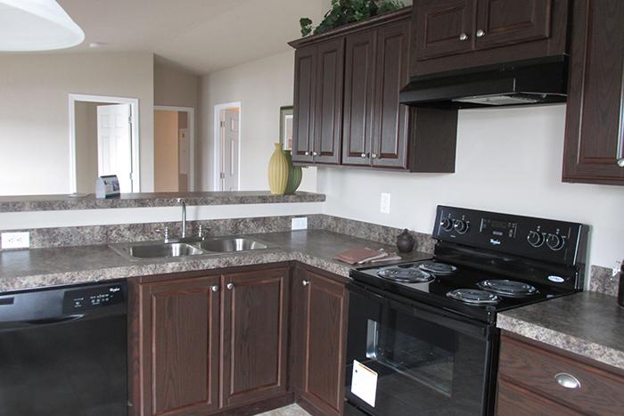 kitchen design ideas with black appliances photo - 5