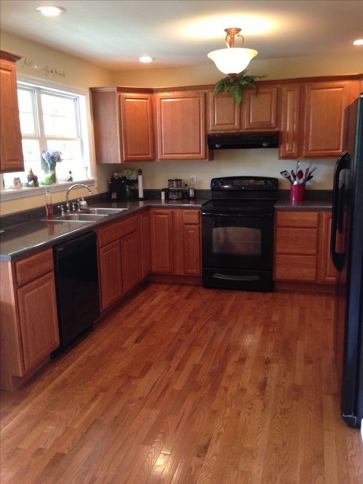 Kitchen Design Ideas With Black Appliances Photo   7