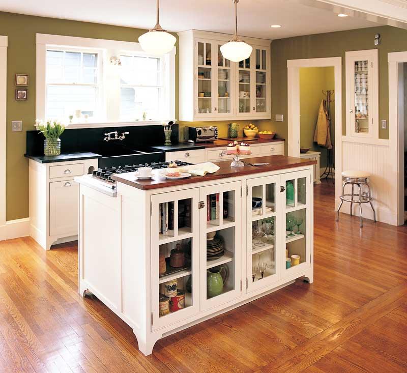 kitchen design ideas with islands photo - 2