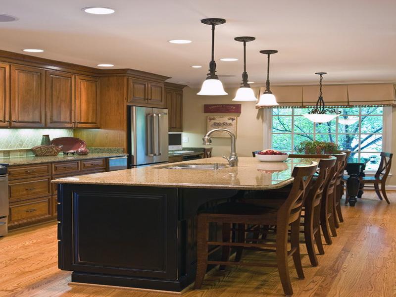 kitchen design ideas with islands photo - 3