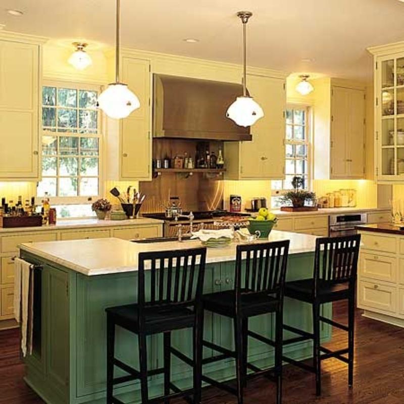 kitchen design ideas with islands photo - 7