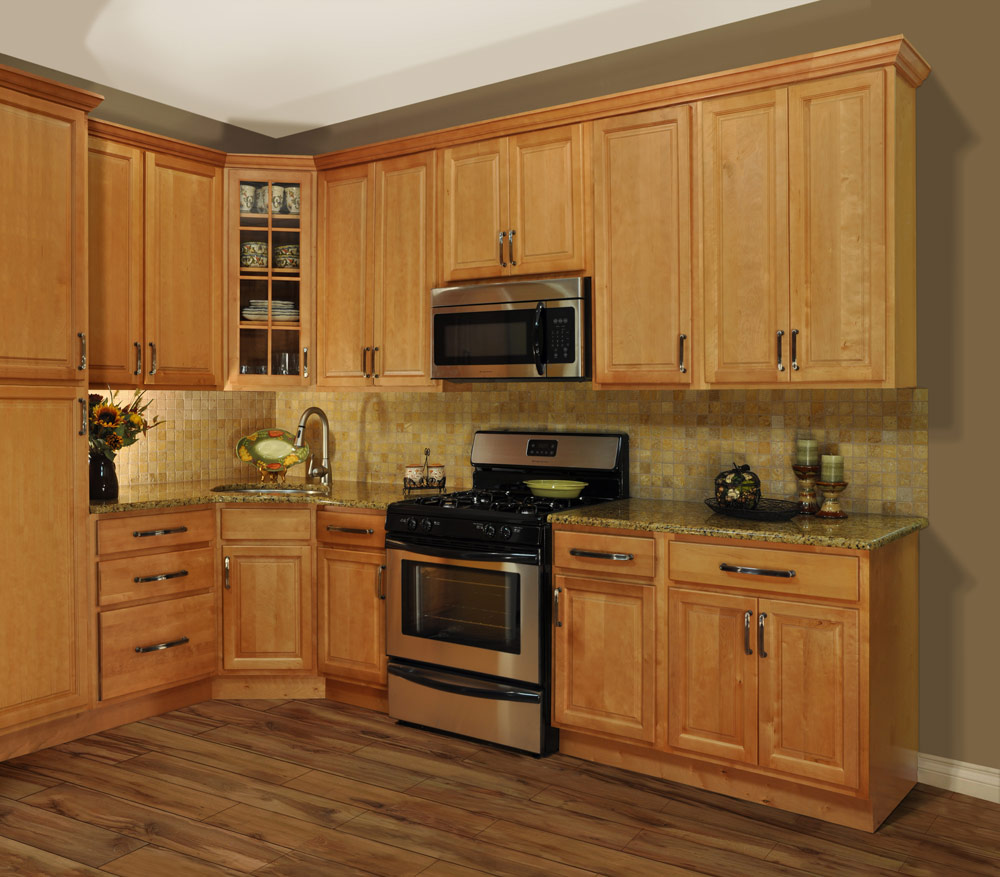 kitchen design ideas with maple cabinets photo - 4