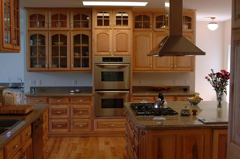 kitchen design ideas with maple cabinets photo - 6