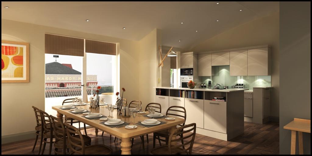 kitchen dining room design ideas photo - 7