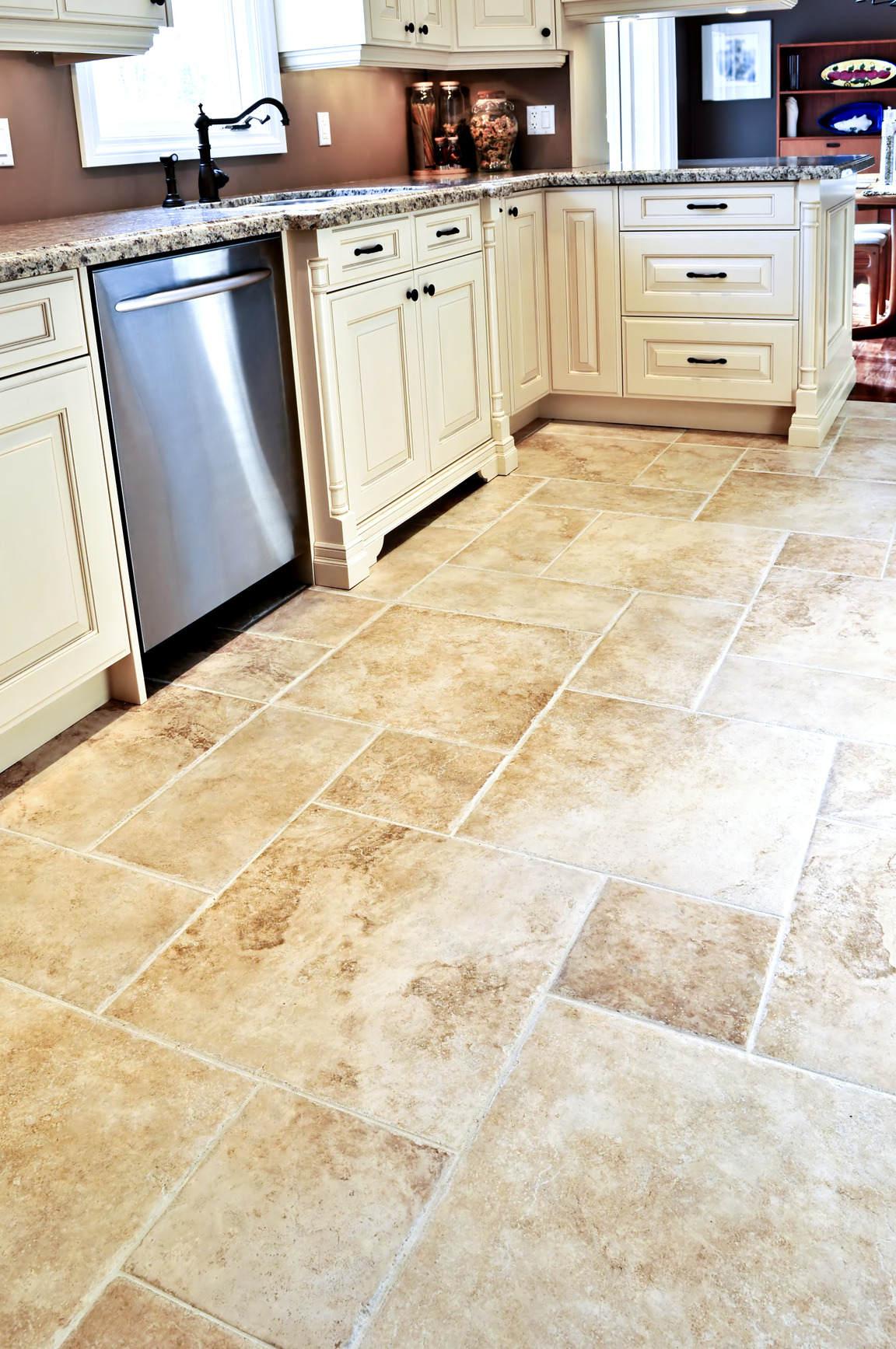 kitchen floor tile photo - 3