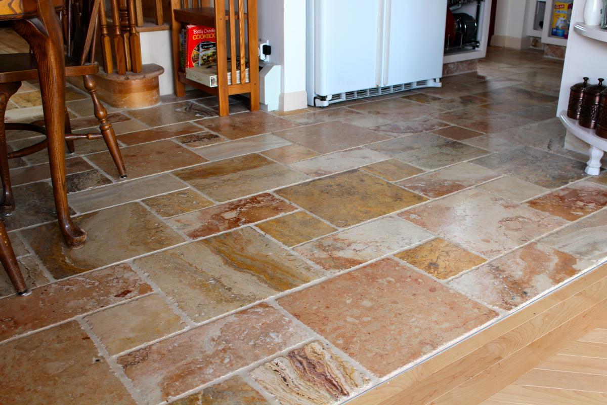 kitchen floor tile photo - 9