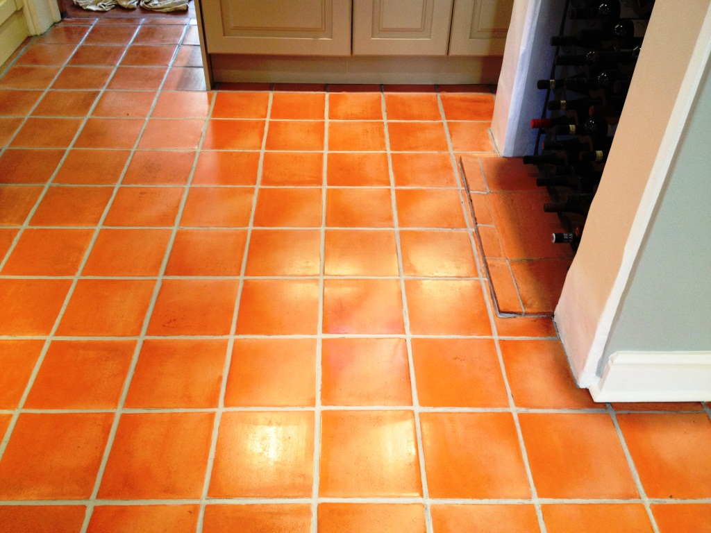 Kitchen Floor Tile And Grout Cleaner Photo 4