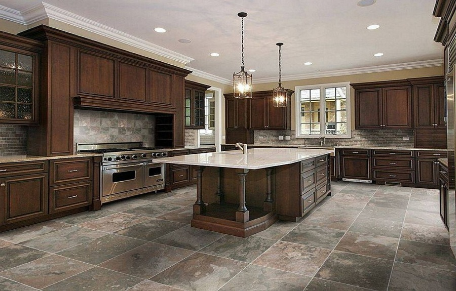 kitchen floor tile ideas photo - 7